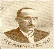 George Martin - Ulster Council Secretary 1904-1910